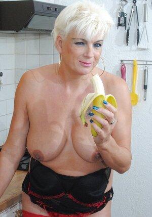 Dimonty Fucks With A Banana & Cucumber