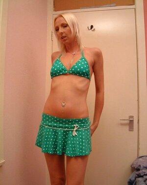 Tracey's Green Witnessed Bikini