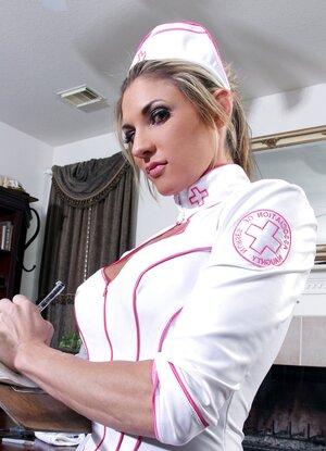 Horny nurse to cure your sexual fantasy