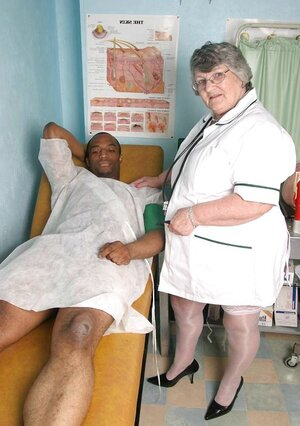 Granny Nurses A Horny Patient