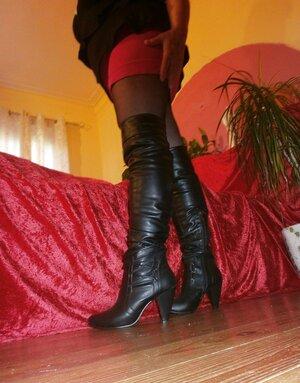 Boots, Torn Hose & Finger-tickling